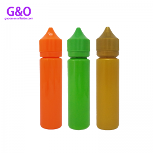 vapor bottle smoking oil bottle 60ml colored eliquid chubby gorilla unicorn bottles vape chubby bottles